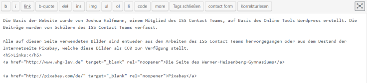 HTML Impressum